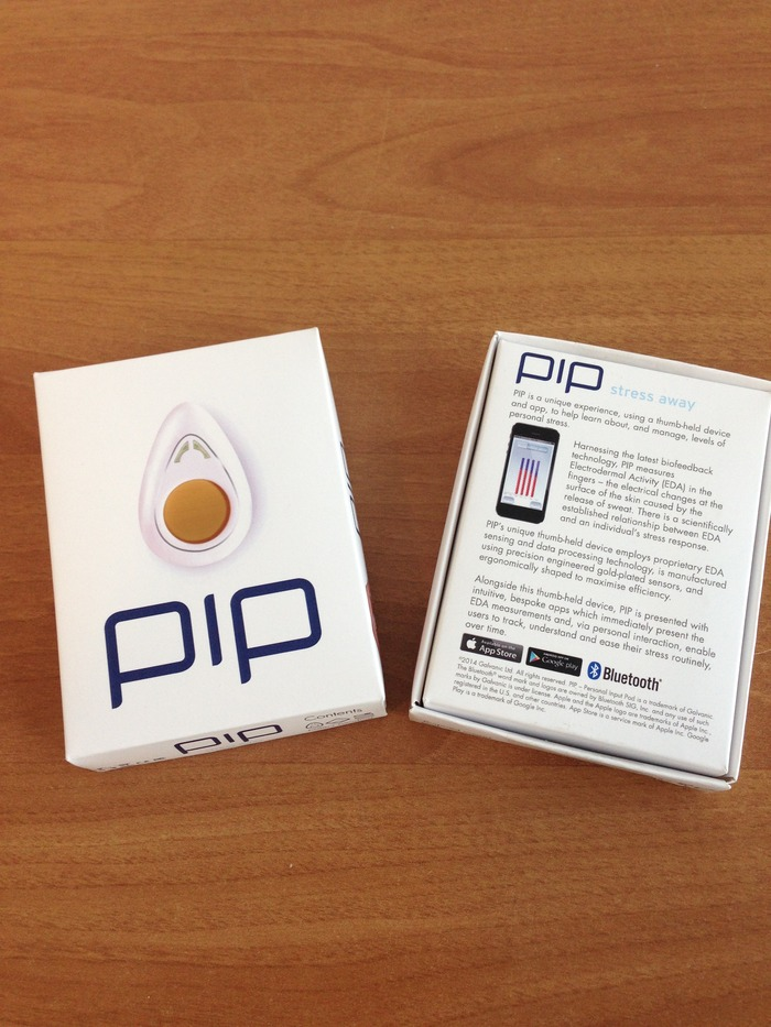 PiP - front and back of packaging