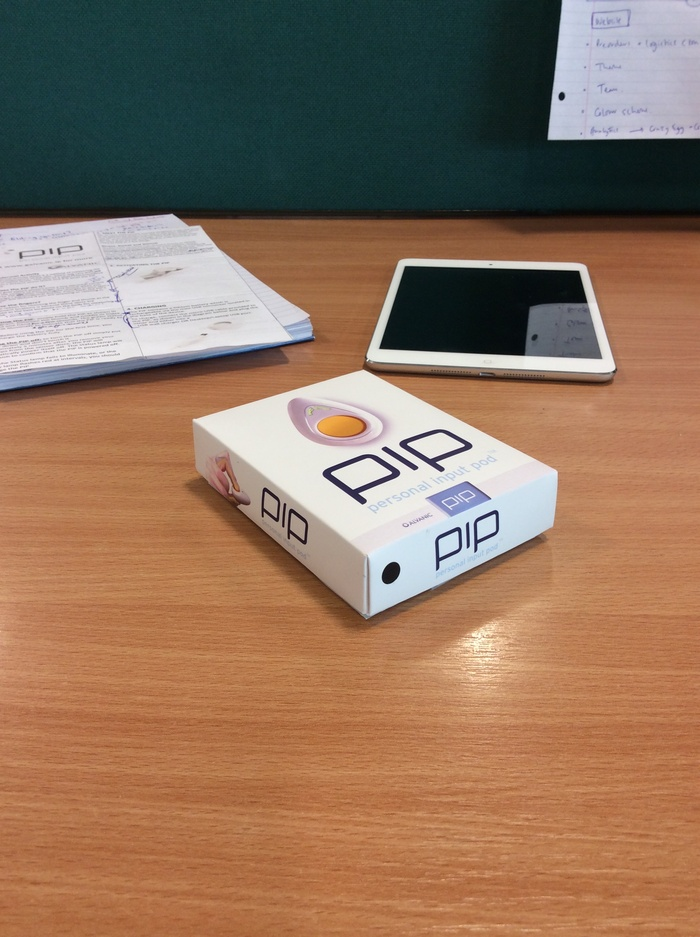 Latest PiP packaging prototype!