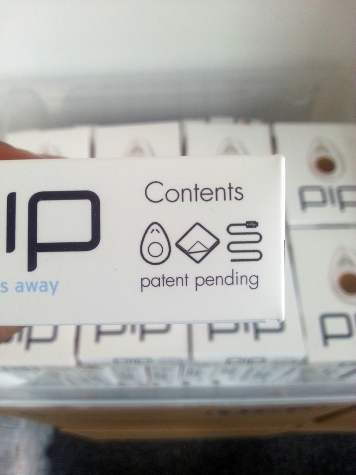 Our out of date PiP packaging - a good issue to have to resolve!