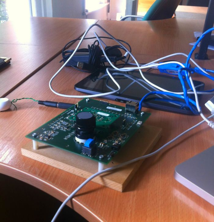 Testing the latest circuit boards for PiP