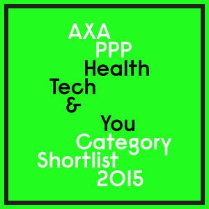 Axa PPP Health tech & you awards badge for the PIP