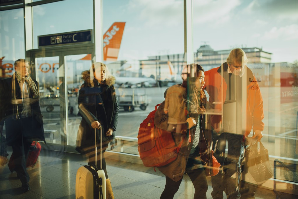 Stress When Flying - Qeues - The Pip